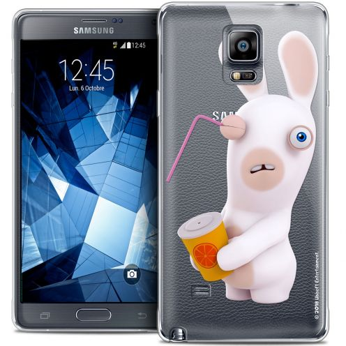 Coque Galaxy Note 4 Extra Fine Lapins Crétins™ - Soda Crétin