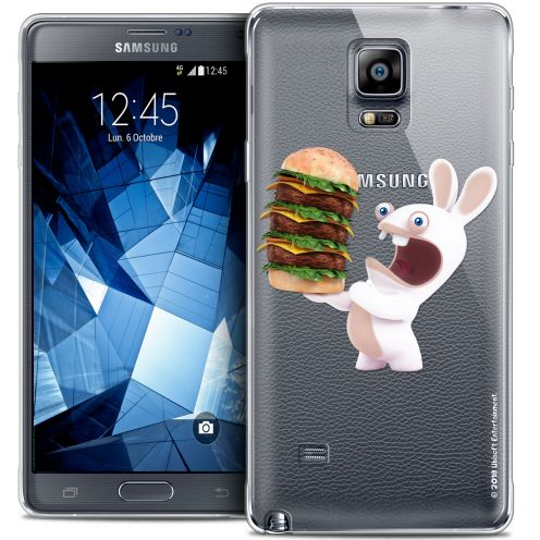 Coque Galaxy Note 4 Extra Fine Lapins Crétins™ - Burger Crétin