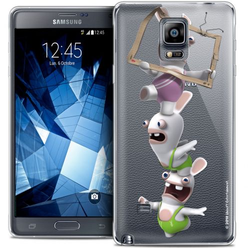 Coque Galaxy Note 4 Extra Fine Lapins Crétins™ - TV Sport