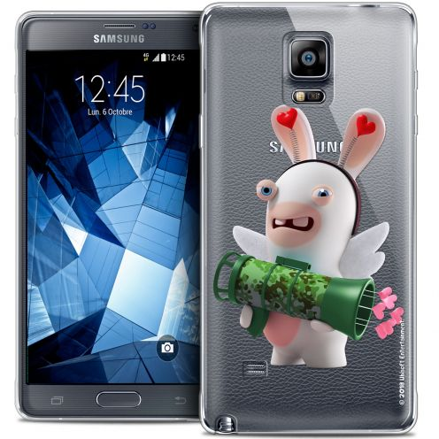 Coque Galaxy Note 4 Extra Fine Lapins Crétins™ - Cupidon Soldat