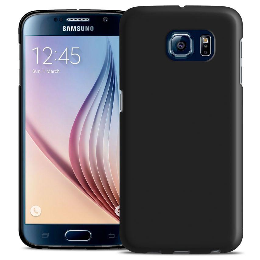 Visuel supplémentaire de Coque Samsung Galaxy S6 Frozen Ice Extra Fine Gel Noir Opaque