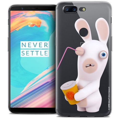 "Coque Gel OnePlus 5T (6"") Extra Fine Lapins Crétins™ - Soda Crétin"