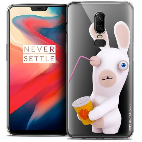 "Coque Gel OnePlus 6 (6.28"") Extra Fine Lapins Crétins™ - Soda Crétin"