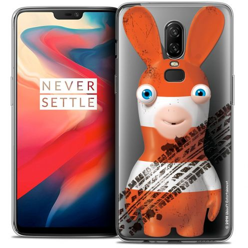 """Coque Gel OnePlus 6 (6.28"""") Extra Fine Lapins Crétins™ - On the Road"""