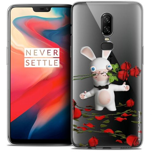 "Coque Gel OnePlus 6 (6.28"") Extra Fine Lapins Crétins™ - Gentleman Crétin"