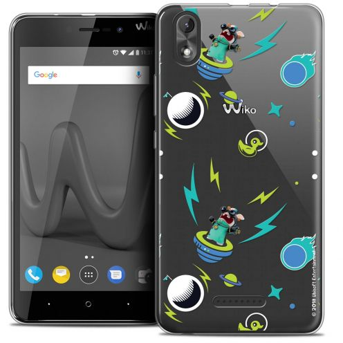 """Coque Gel Wiko Lenny 4 PLUS (5.5"""") Extra Fine Lapins Crétins™ - Space 1"""