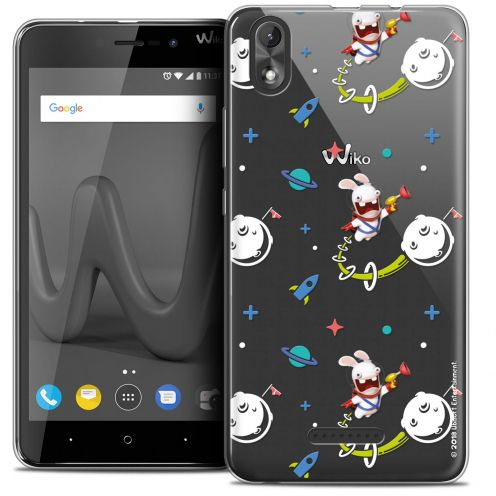"""Coque Gel Wiko Lenny 4 PLUS (5.5"""") Extra Fine Lapins Crétins™ - Space 2"""