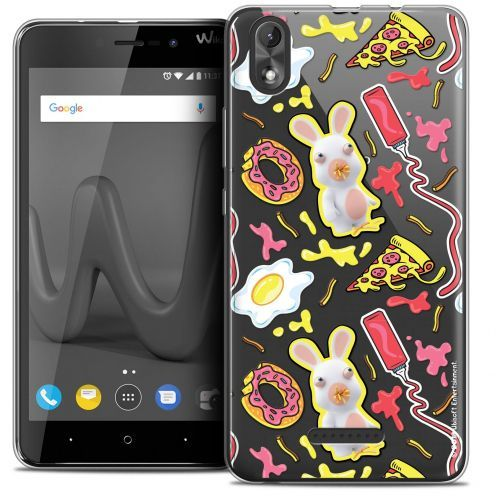 """Coque Gel Wiko Lenny 4 PLUS (5.5"""") Extra Fine Lapins Crétins™ - Egg Pattern"""