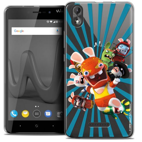 """Coque Gel Wiko Lenny 4 PLUS (5.5"""") Extra Fine Lapins Crétins™ - Super Heros"""