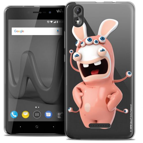 """Coque Gel Wiko Lenny 4 PLUS (5.5"""") Extra Fine Lapins Crétins™ - Extraterrestre"""