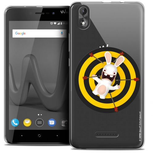 """Coque Gel Wiko Lenny 4 PLUS (5.5"""") Extra Fine Lapins Crétins™ - Target"""