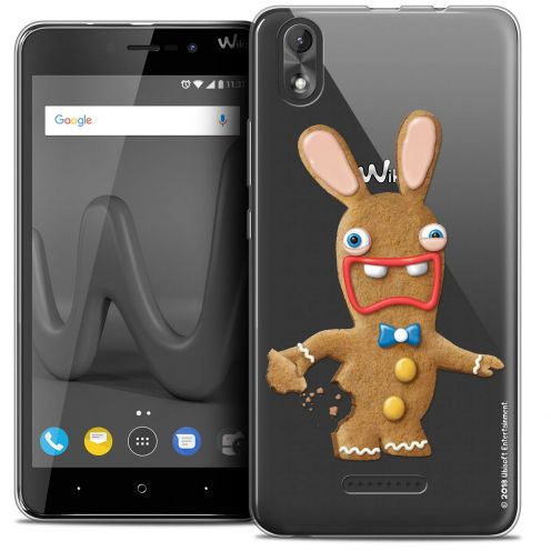 """Coque Gel Wiko Lenny 4 PLUS (5.5"""") Extra Fine Lapins Crétins™ - Cookie"""