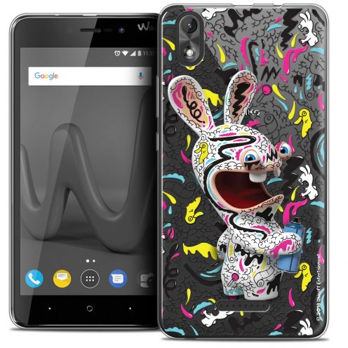 """Coque Gel Wiko Lenny 4 PLUS (5.5"""") Extra Fine Lapins Crétins™ - Tag"""