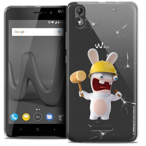 """Coque Gel Wiko Lenny 4 PLUS (5.5"""") Extra Fine Lapins Crétins™ - Breaker"""