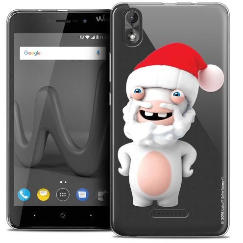 """Coque Gel Wiko Lenny 4 PLUS (5.5"""") Extra Fine Lapins Crétins™ - Lapin Noël"""