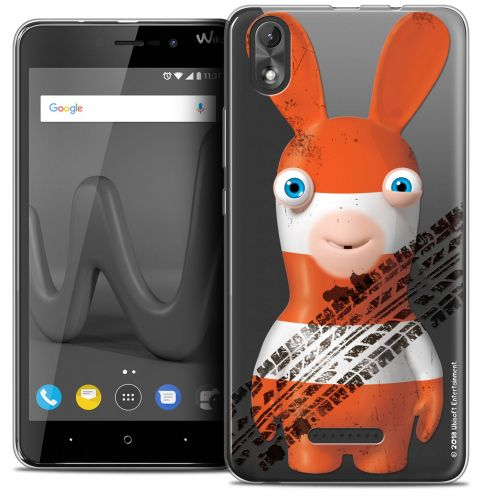 """Coque Gel Wiko Lenny 4 PLUS (5.5"""") Extra Fine Lapins Crétins™ - On the Road"""