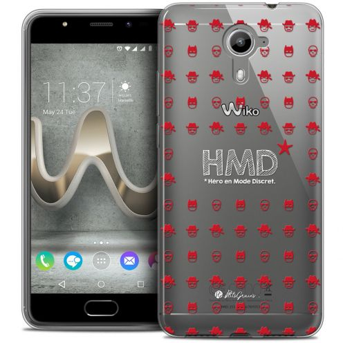 Coque Gel Wiko U Feel PRIME Extra Fine Petits Grains® - HMD* Hero en Mode Discret
