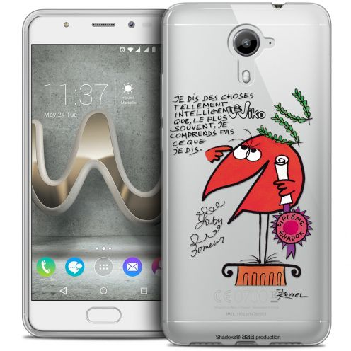 Coque Gel Wiko U Feel PRIME Extra Fine Les Shadoks® - Intelligent