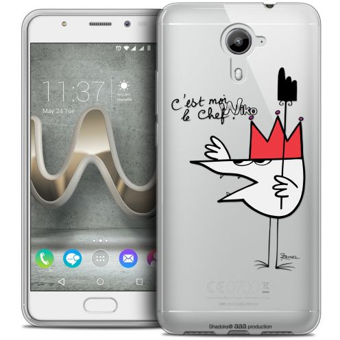 Coque Gel Wiko U Feel PRIME Extra Fine Les Shadoks® - Le Chef