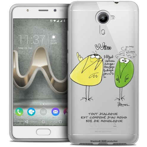 Coque Gel Wiko U Feel PRIME Extra Fine Les Shadoks® - Le Dialogue
