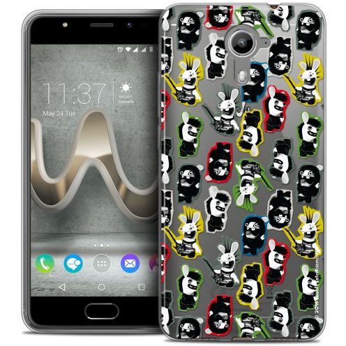 Coque Gel Wiko U Feel PRIME Extra Fine Lapins Crétins™ - Punk Pattern