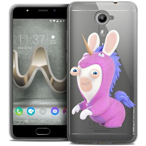 Coque Gel Wiko U Feel PRIME Extra Fine Lapins Crétins™ - Licorne