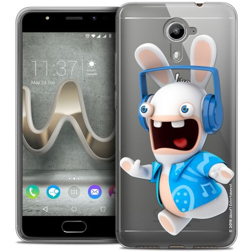 Coque Gel Wiko U Feel PRIME Extra Fine Lapins Crétins™ - Techno Lapin