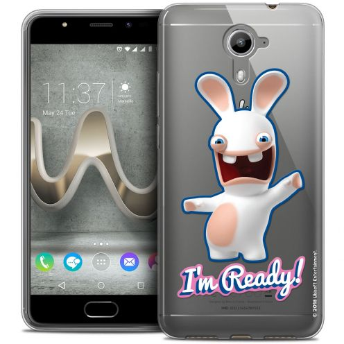 Coque Gel Wiko U Feel PRIME Extra Fine Lapins Crétins™ - I'm Ready !