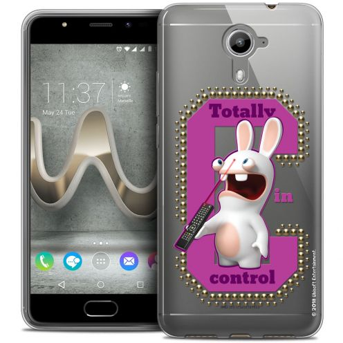 Coque Gel Wiko U Feel PRIME Extra Fine Lapins Crétins™ - In Control !