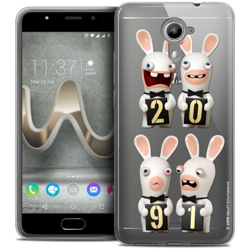 Coque Gel Wiko U Feel PRIME Extra Fine Lapins Crétins™ - New Year