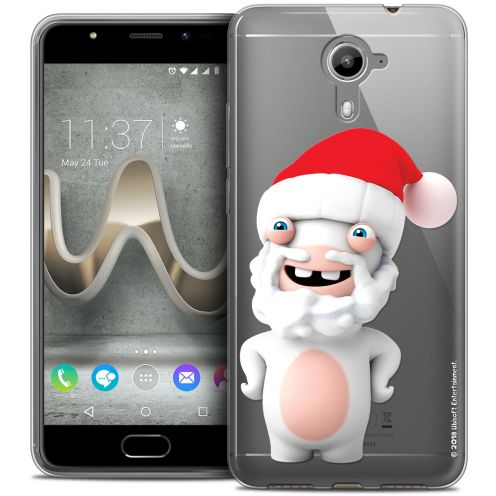 Coque Gel Wiko U Feel PRIME Extra Fine Lapins Crétins™ - Lapin Noël