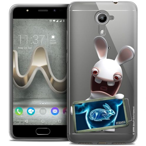Coque Gel Wiko U Feel PRIME Extra Fine Lapins Crétins™ - X Ray Crétin