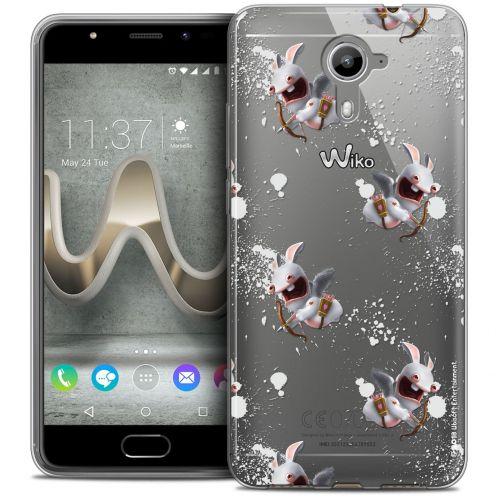 Coque Gel Wiko U Feel PRIME Extra Fine Lapins Crétins™ - Cupidon Pattern