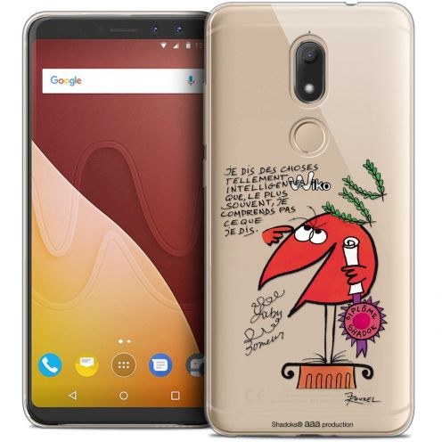 """Coque Gel Wiko View PRIME (5.7"""") Extra Fine Les Shadoks® - Intelligent"""