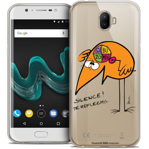 """Coque Gel Wiko Wim (5.5"""") Extra Fine Les Shadoks® - Silence !"""