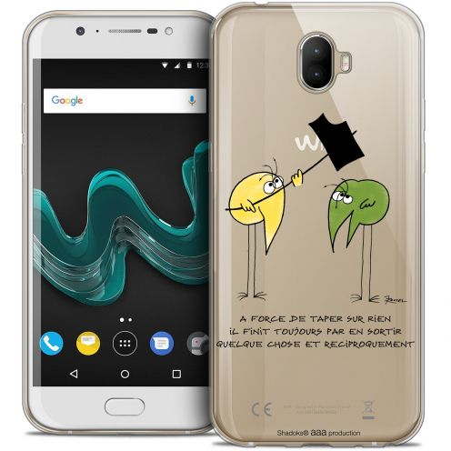 """Coque Gel Wiko Wim (5.5"""") Extra Fine Les Shadoks® - A Force"""
