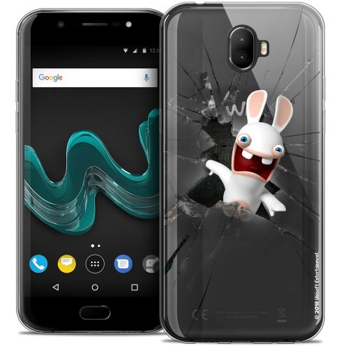 "Coque Gel Wiko Wim (5.5"") Extra Fine Lapins Crétins™ - Breaking Glass"