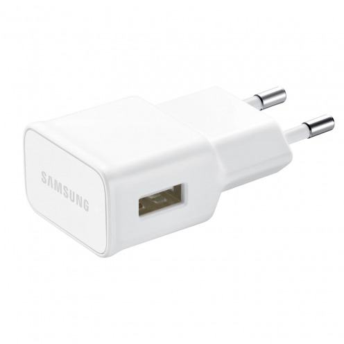 Zoom sur Chargeur Secteur USB 2A Samsung Fast Charge EP-TA10EWE Blanc