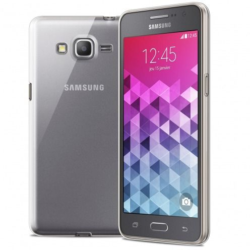 Coque Ultra Fine 0.5mm Souple Crystal Clear View pour Samsung Galaxy Grand Prime