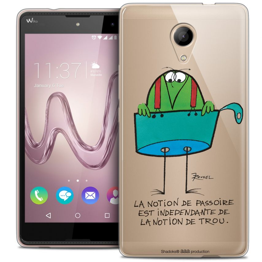 Coque Gel Wiko Robby Extra Fine Les Shadoks® - La Passoire