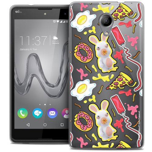 Coque Gel Wiko Robby Extra Fine Lapins Crétins™ - Egg Pattern