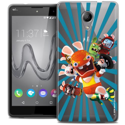 Coque Gel Wiko Robby Extra Fine Lapins Crétins™ - Super Heros