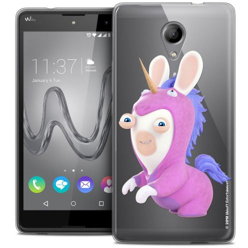 Coque Gel Wiko Robby Extra Fine Lapins Crétins™ - Licorne