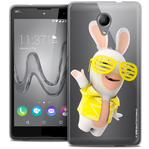 Coque Gel Wiko Robby Extra Fine Lapins Crétins™ - Sun Glassss!