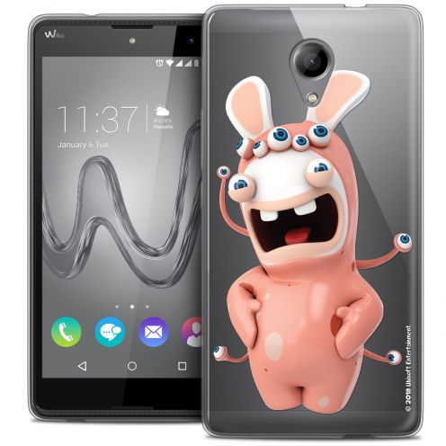 Coque Gel Wiko Robby Extra Fine Lapins Crétins™ - Extraterrestre