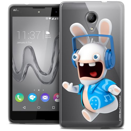 Coque Gel Wiko Robby Extra Fine Lapins Crétins™ - Techno Lapin