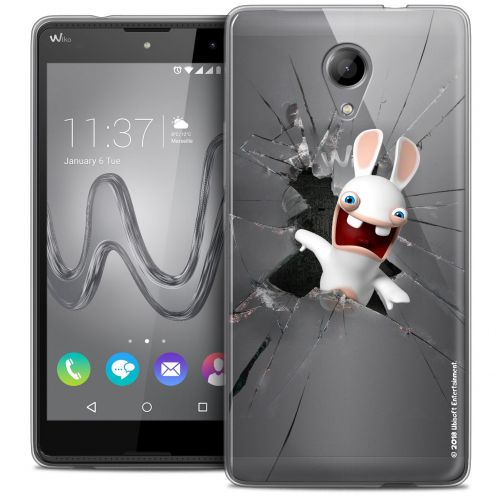 Coque Gel Wiko Robby Extra Fine Lapins Crétins™ - Breaking Glass