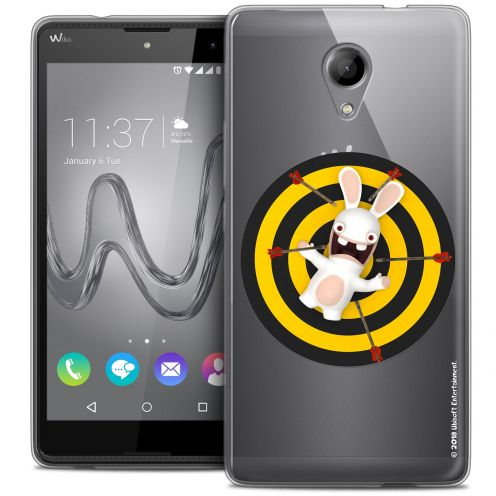 Coque Gel Wiko Robby Extra Fine Lapins Crétins™ - Target