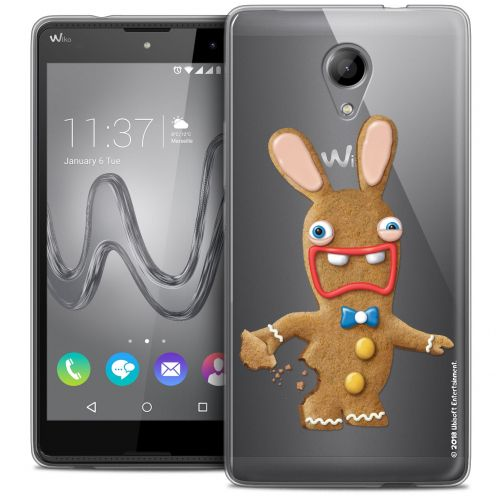 Coque Gel Wiko Robby Extra Fine Lapins Crétins™ - Cookie