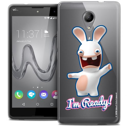 Coque Gel Wiko Robby Extra Fine Lapins Crétins™ - I'm Ready !